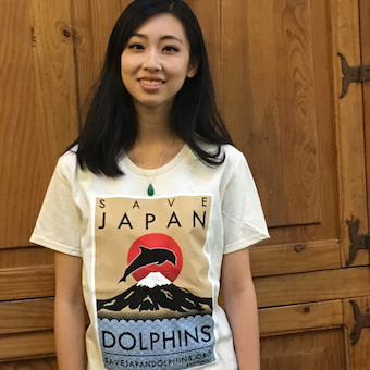 Save Dolphins T-shirt with Your Donation!